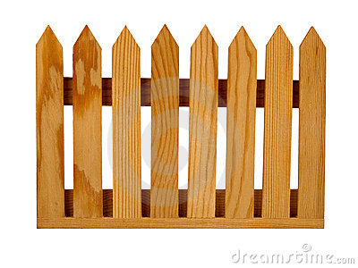 Picket fence clipart free.