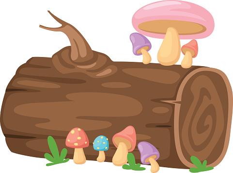 Wood Log Clip Art Clip Art, Vector Images & Illustrations.