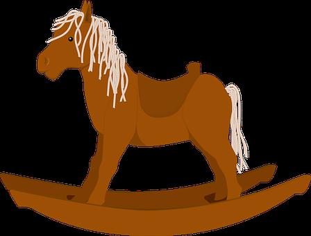 Wooden, Horse.