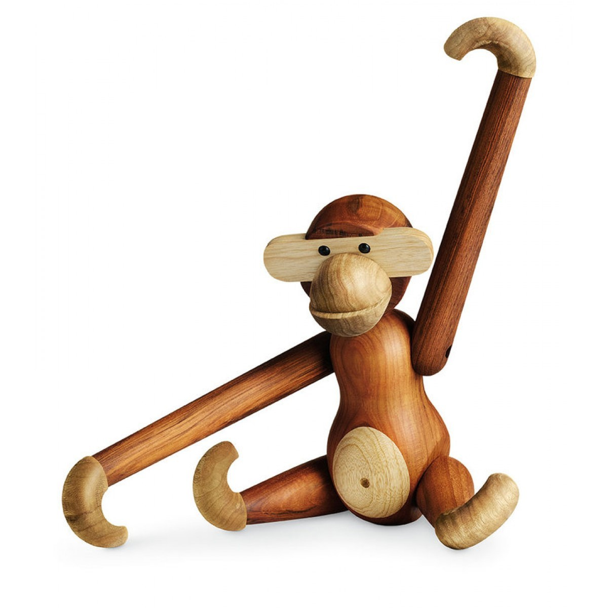 Monkey wooden figurine Kay Bojesen.