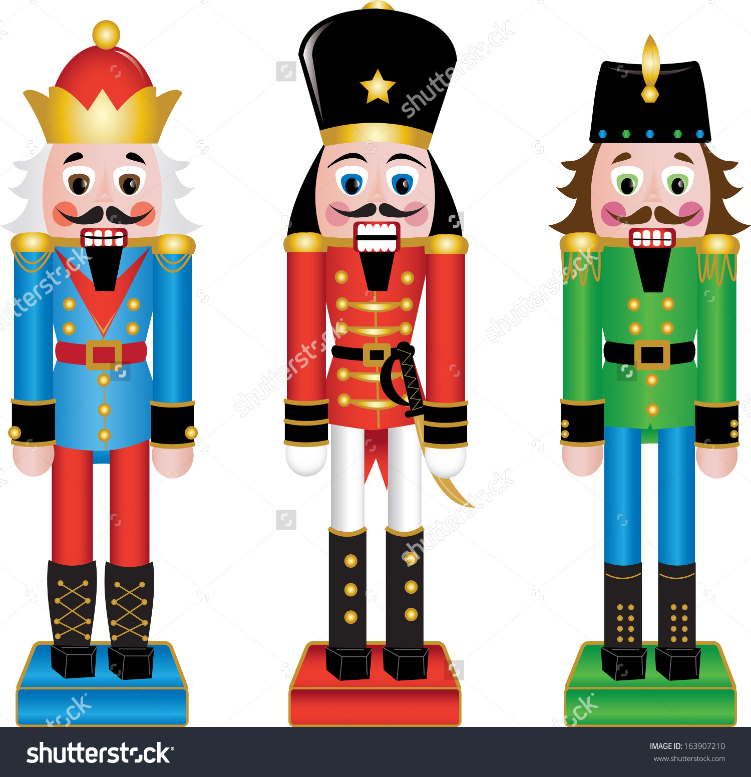 Wooden Figurines Clipart Clipground