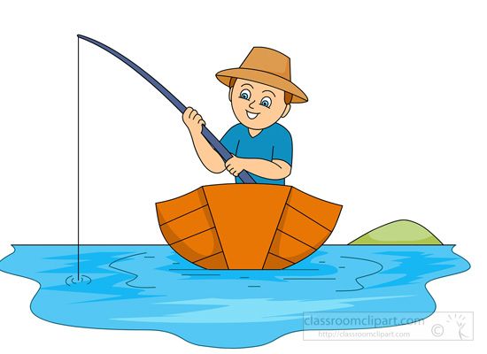 Wooden fishing boat clipart - Clipground
