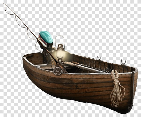 Brown wooden boat, Sailboat High.