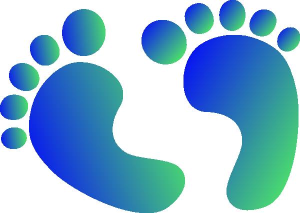 Footprint Infant Clip art.