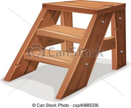 Vectors of Wood Footboard.