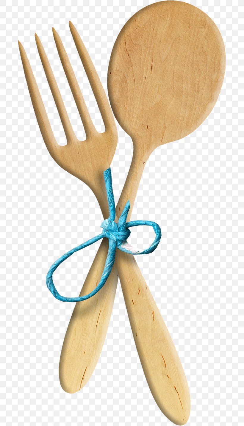 Wooden Spoon Fork Kitchen Clip Art, PNG, 700x1432px, Wooden.