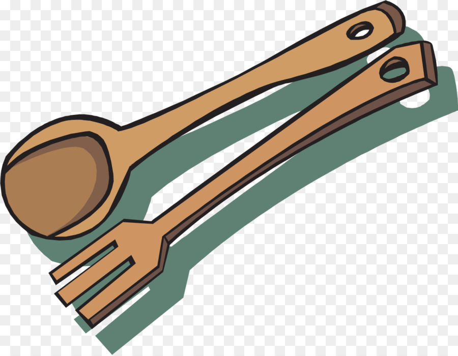 Wooden Spoon png download.