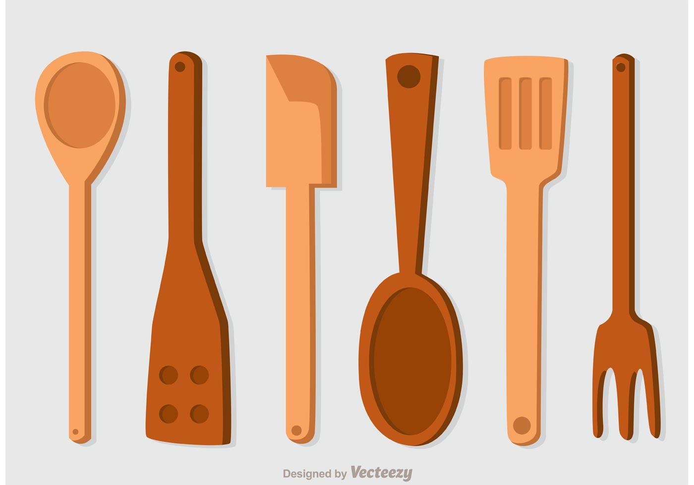 Spoon Free Vector Art.
