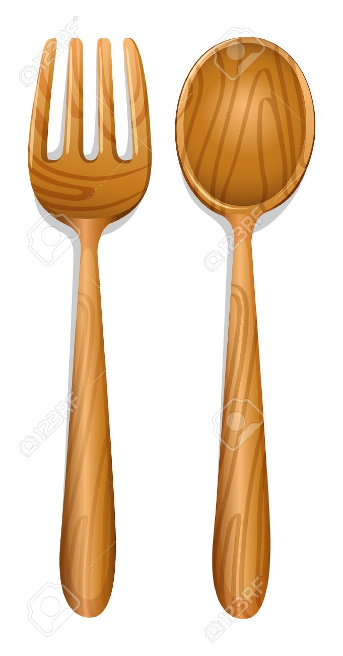 Wooden Forks Clipart Clipground