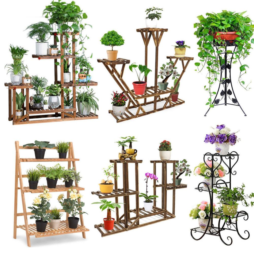 Various Kinds of Metal /Wooden /Bamboo Outdoor Indoor Pot.