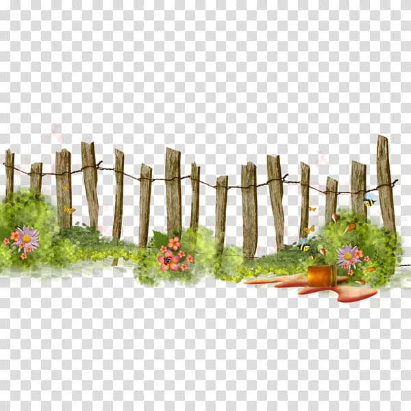 Brown wooden fence, Fence Flower garden , gardening.