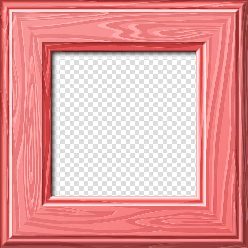 Frame Digital frame Text, Pink Frame transparent background.