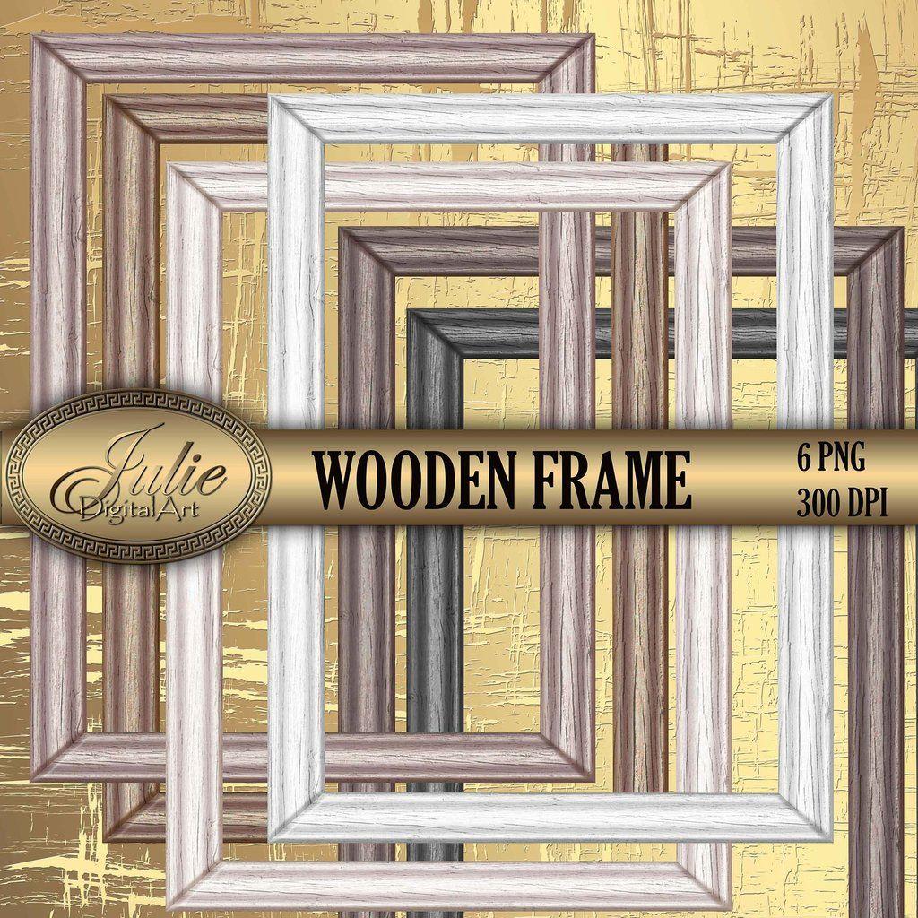 Wood frame clipart Picture frame png Frame clip art Wooden.