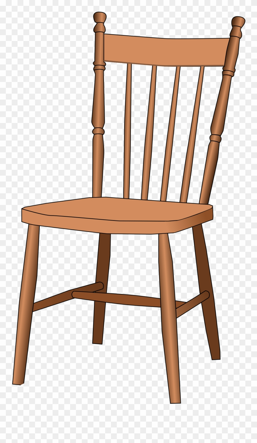 Armchair Clipart Wooden Furniture.