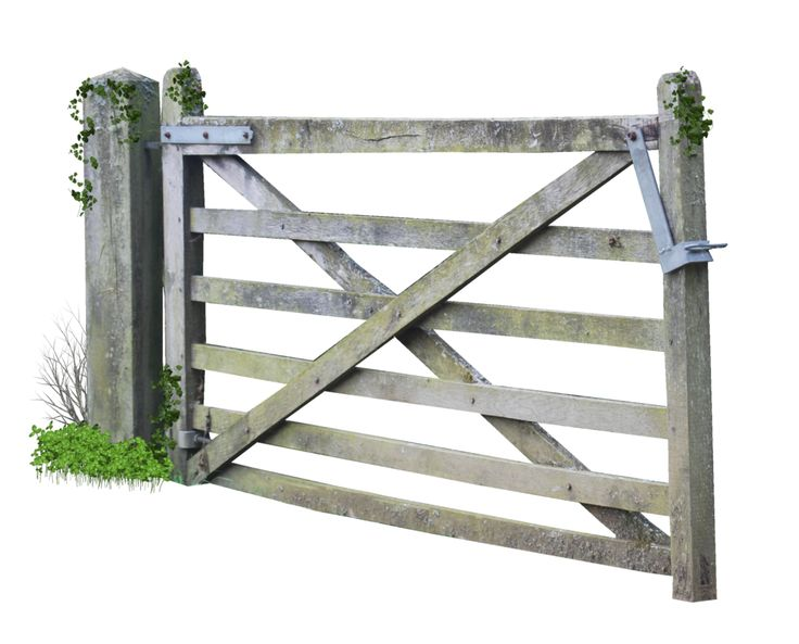 Wooden Farm Gate PNG.. by Alz.