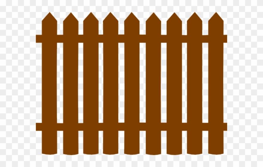 Gate Clipart Wooden Gate.