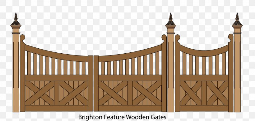 Picket Fence Gate Garden Clip Art, PNG, 1920x910px, Fence.
