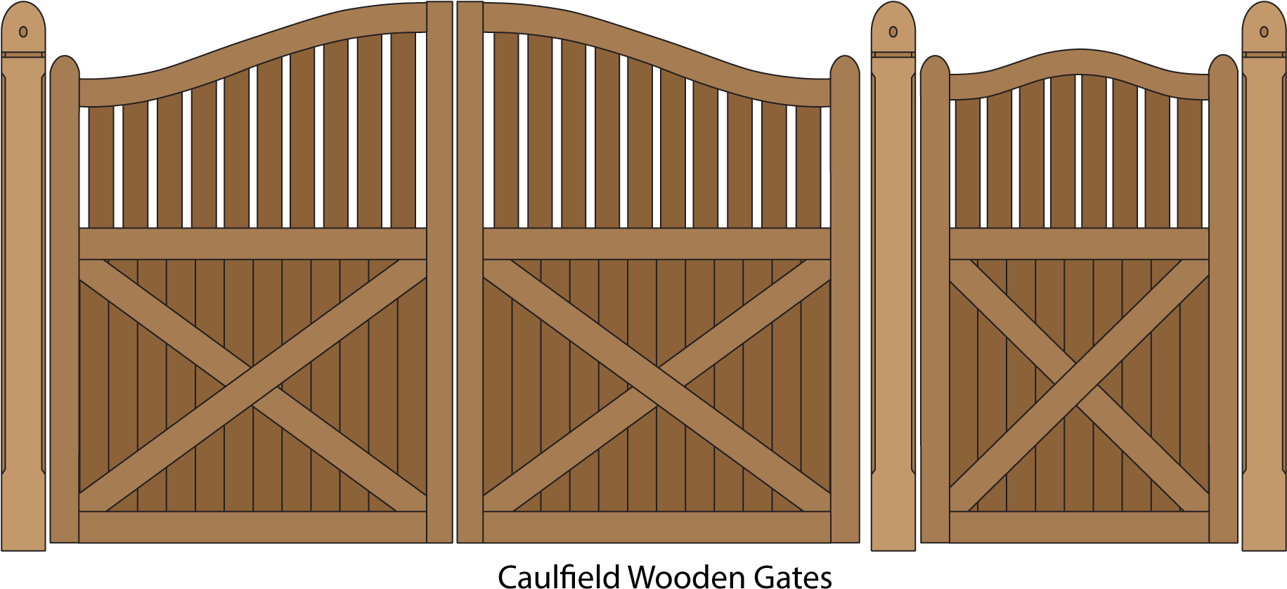 Download Caulfield Wooden Gates 1,919×995 Pixels.