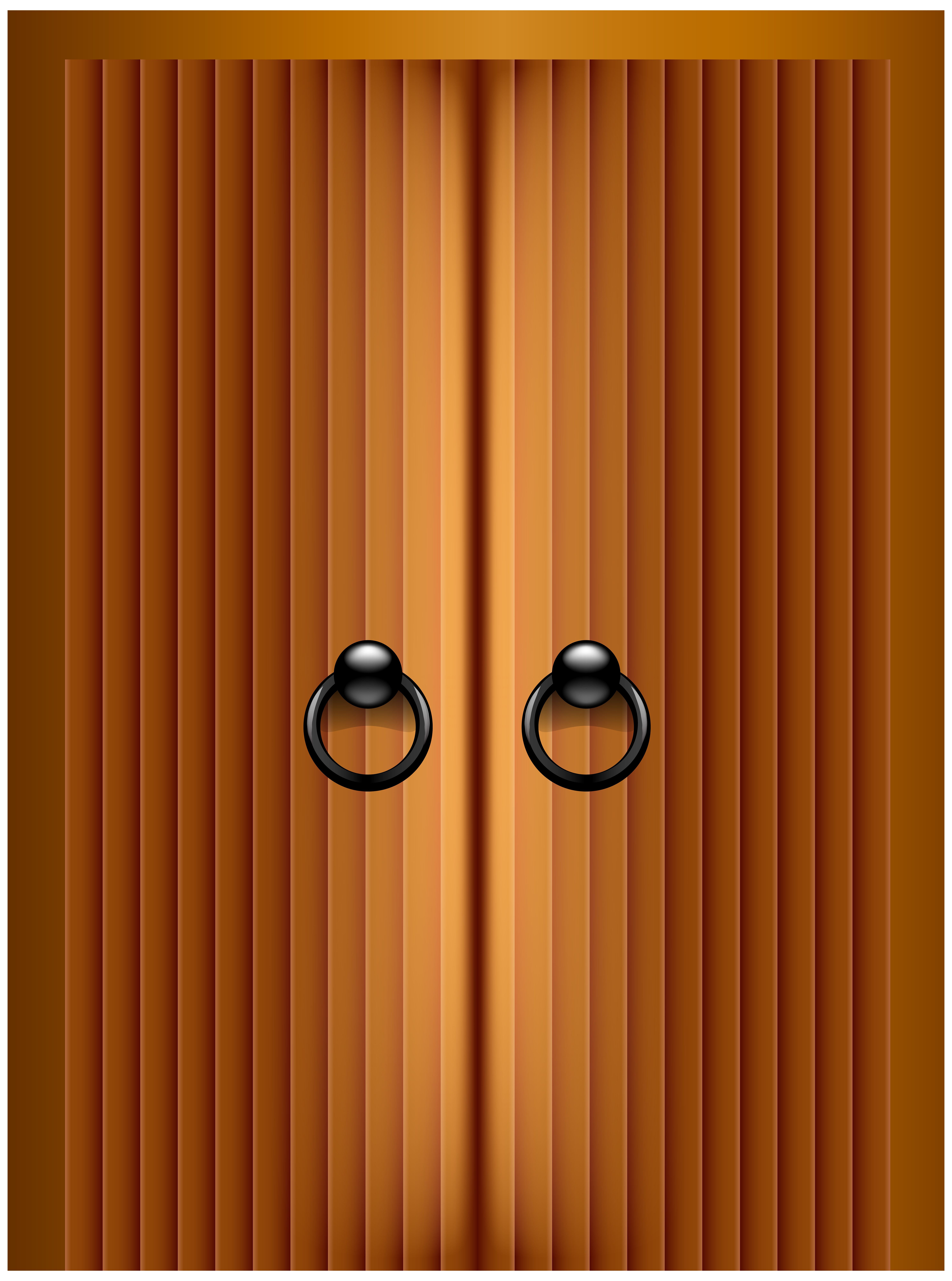 Wooden Gate PNG Clip Art.