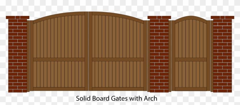 Wooden Gates.
