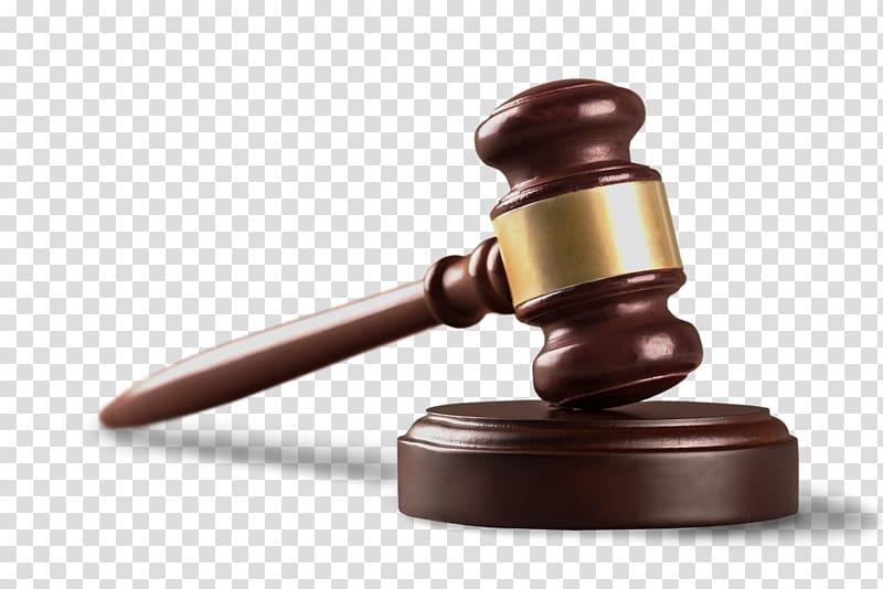 Brown wooden mallet hammer, Lawyer Gavel Lawsuit Criminal.