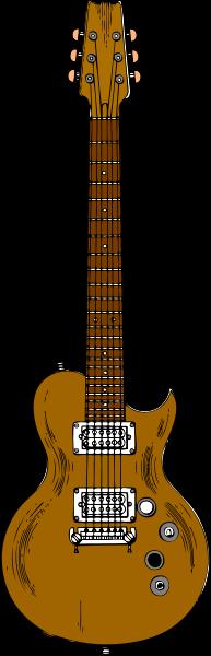 Wooden Guitar Clipart, vector clip art online, royalty free design.
