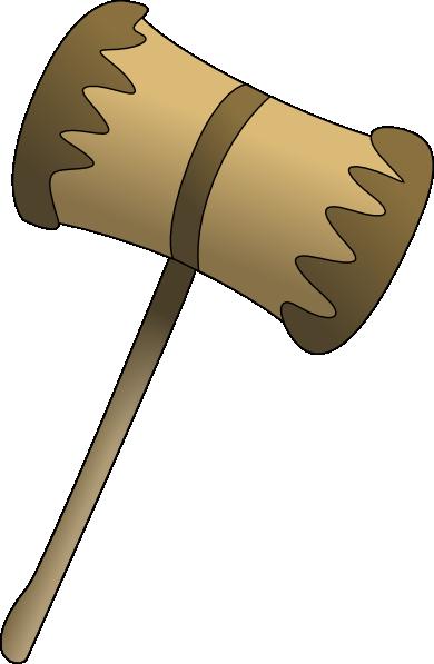 Wooden Mallot Clip Art at Clker.com.