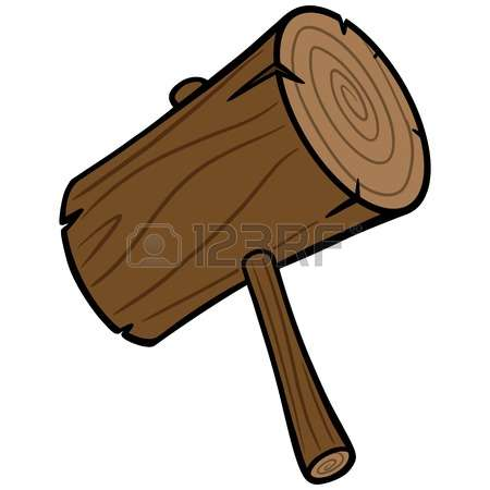 2,614 Wooden Mallet Stock Illustrations, Cliparts And Royalty Free.