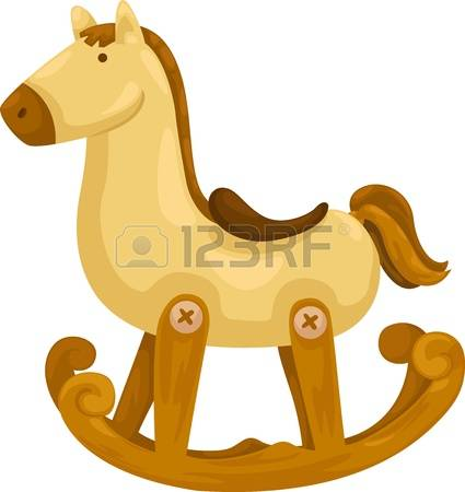 4,355 Wooden Horse Stock Vector Illustration And Royalty Free.