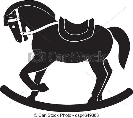 Wooden Horse Clipart.