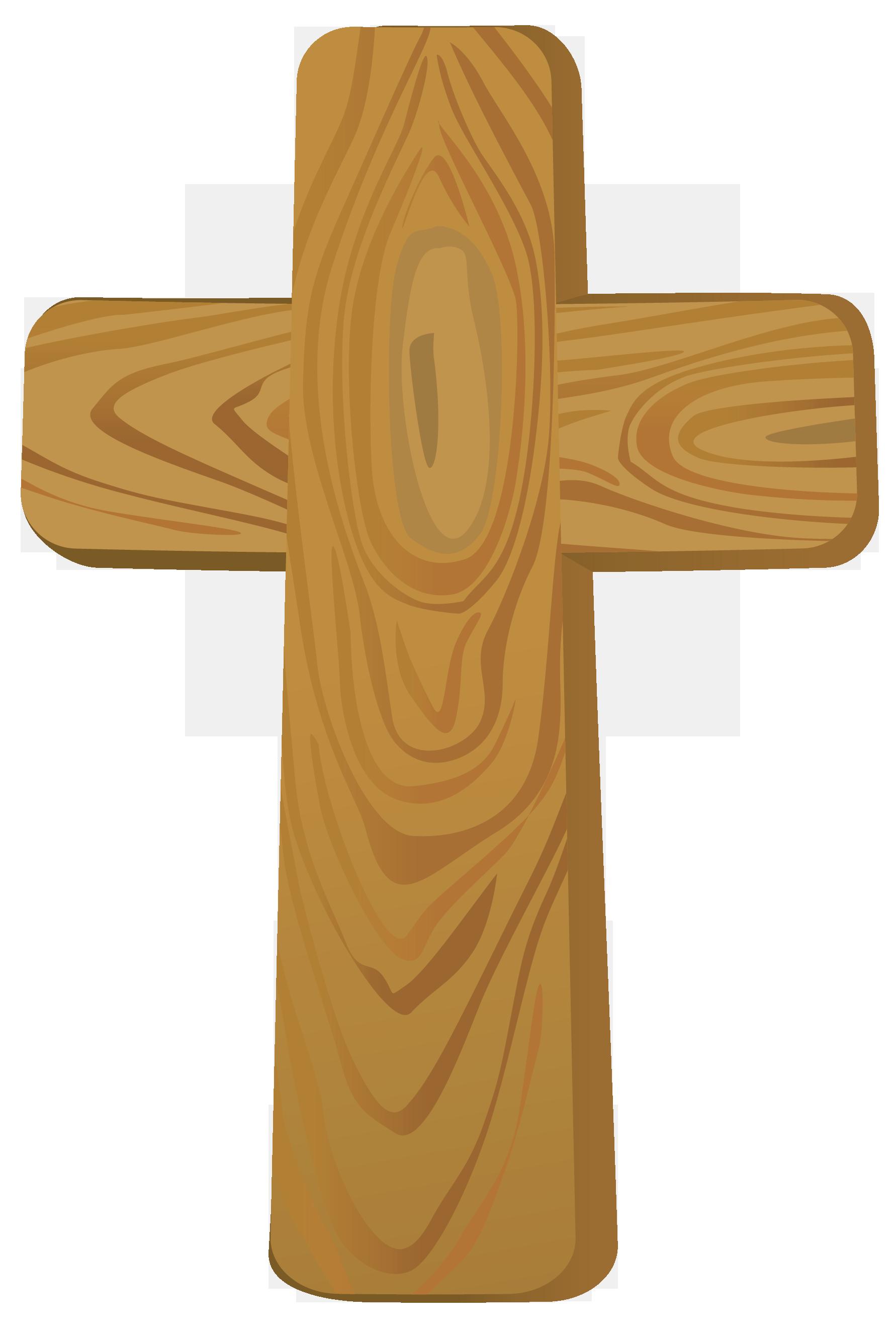 Wood Cross Clipart.