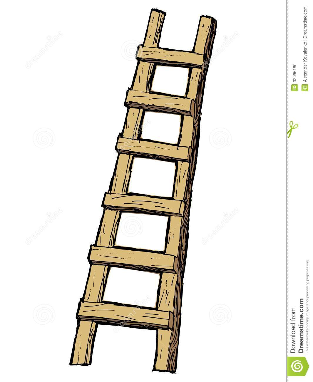 Wooden Ladder Clipart Clipground