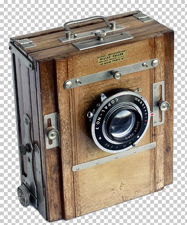 Camera lens Photography, Vintage Camera PNG clipart.
