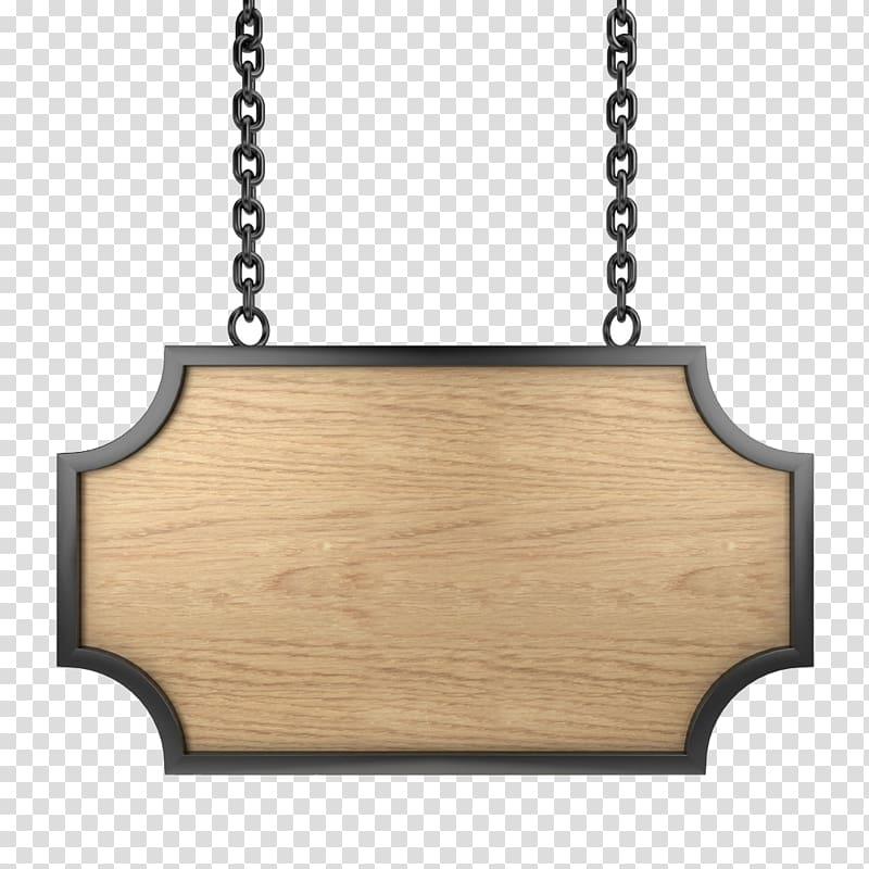 Black wooden board, , Wood signs transparent background PNG.