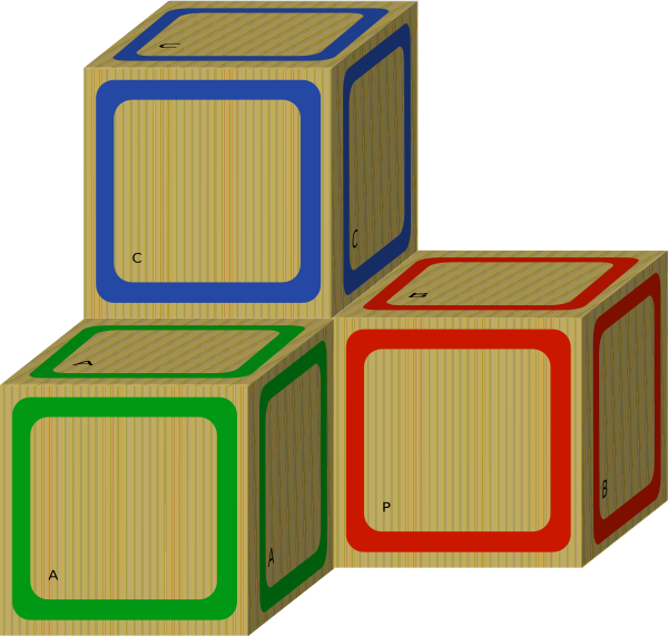 2083 Blocks free clipart.