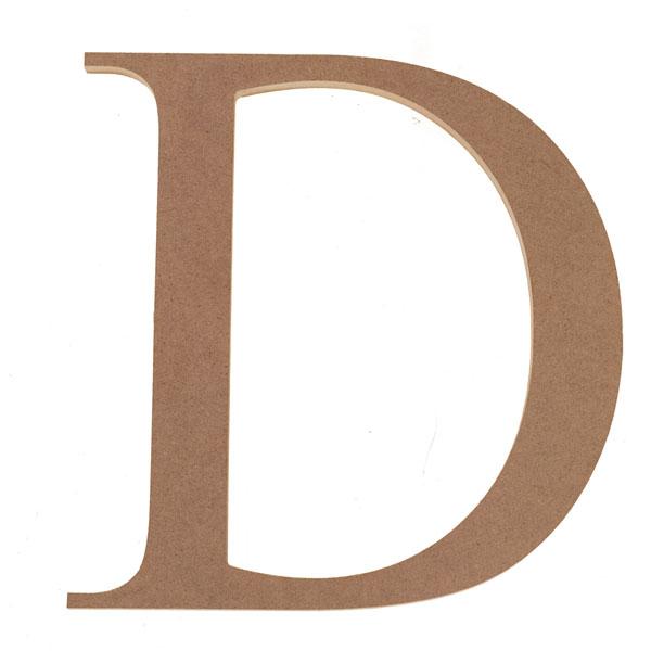 Decorative Letter D.