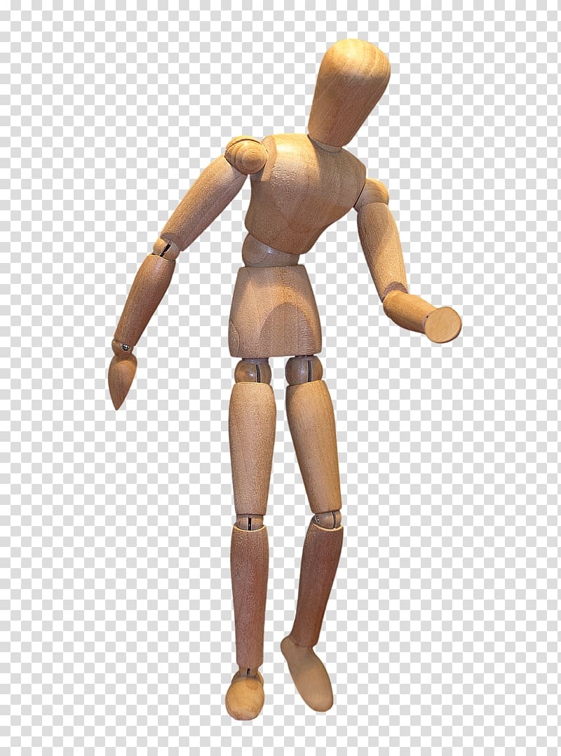 Peg wooden doll file formats, Wooden doll body transparent.