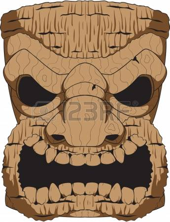 1,358 Wooden Mask Cliparts, Stock Vector And Royalty Free Wooden.