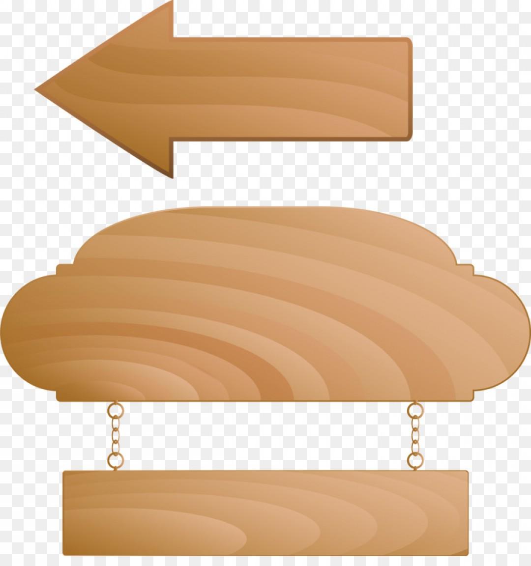 Png Wood Nameplate Clip Art Vector Wooden Arrow.