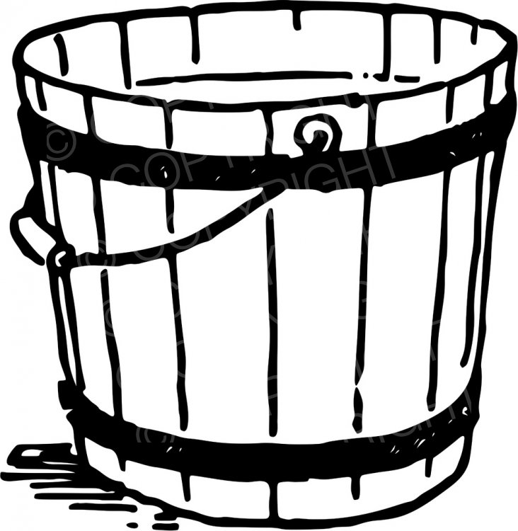 Bucket clipart garden, Bucket garden Transparent FREE for.