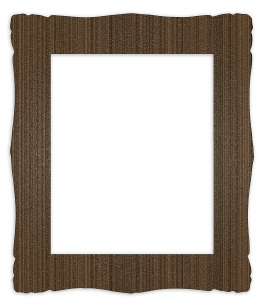 Wood Picture Frame Clip Art.