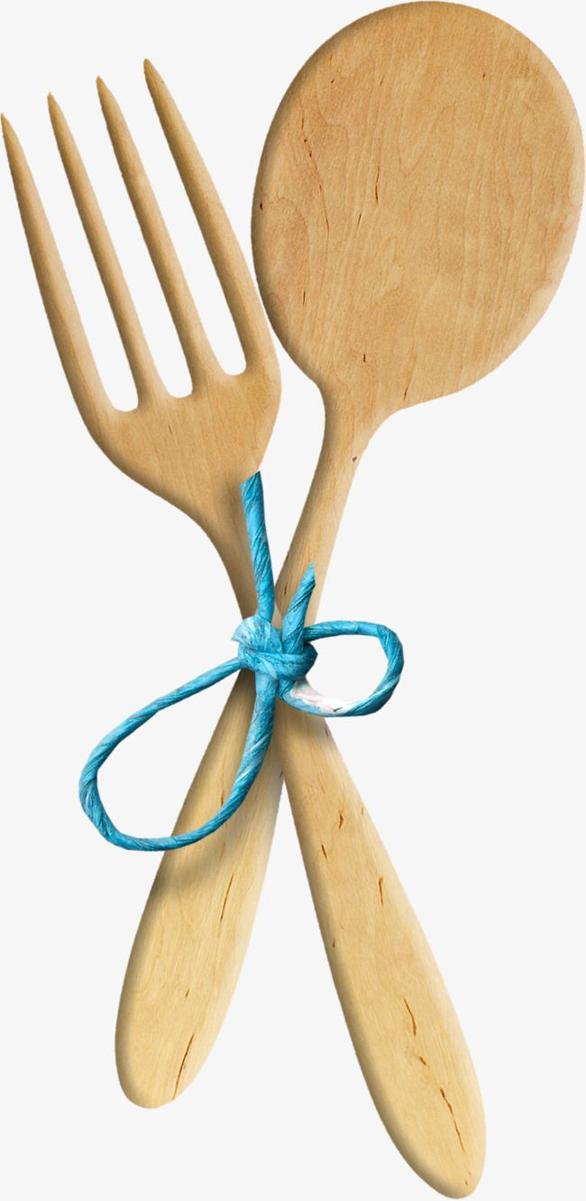 Wooden Spoon Fork, Spoon Clipart, Fork Clipart, Bluewooden.