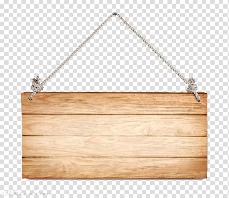 Wood , Hanging wooden decorative hanging board, brown wooden.
