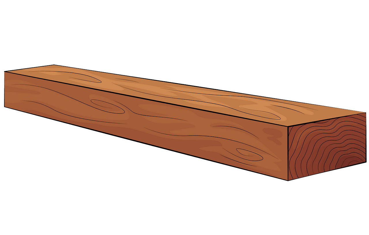Wooden plank clipart. Free download..