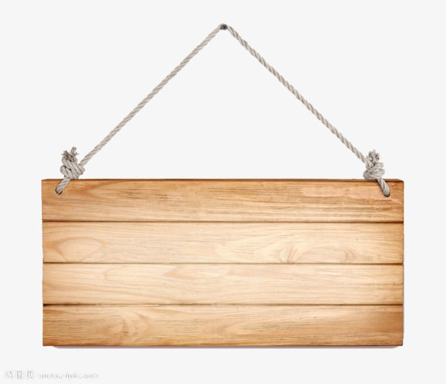 Hanging Wooden Decorative Hanging Board, Prompt Card.