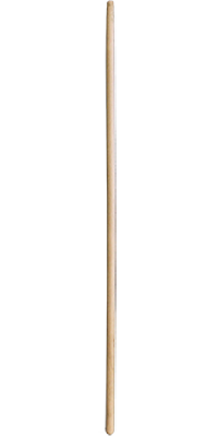 Wood Pole with Tapered Tip.
