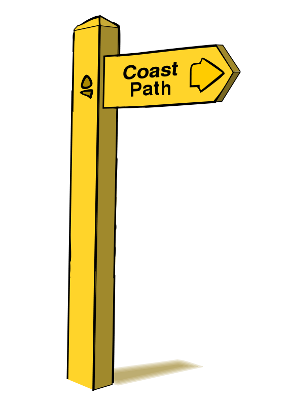 Free Clipart: Wooden Sign Post.