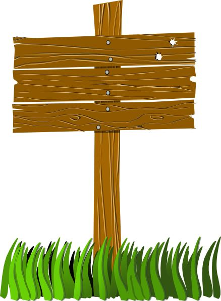 Wooden Sign Post Clip Art There are lots of useful ideas.