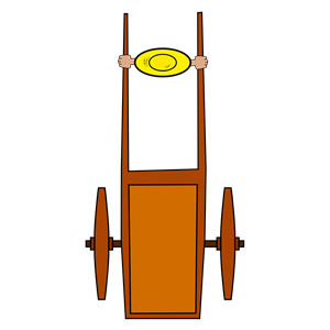 push cart clipart, cliparts of push cart free download (wmf.