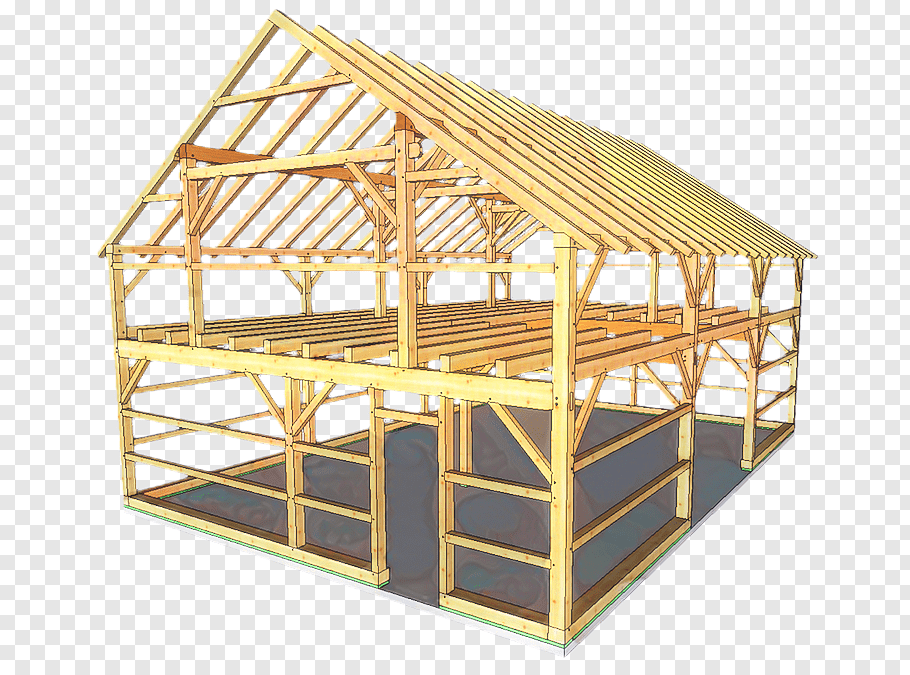 Building, Timber Framing, Lumber, Rafter, Tie, Woodworking.